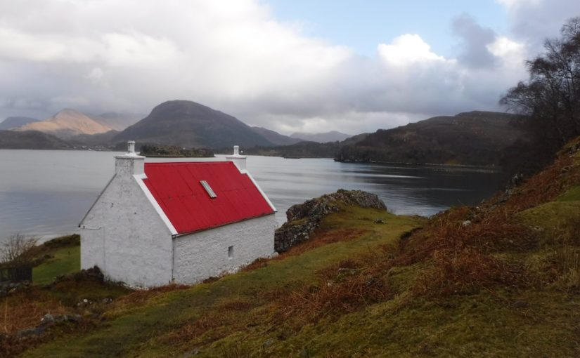 Red roof, Loch Torridon