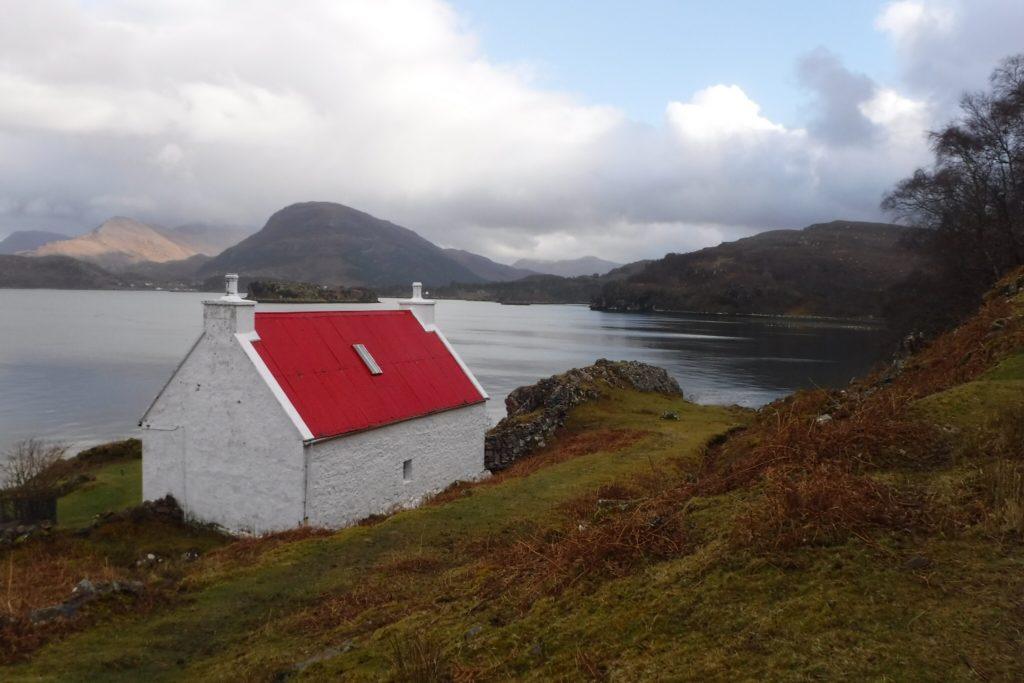Red roof, Loch Torridon